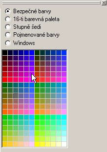 PSPad - volba barvy