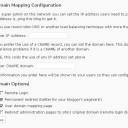 Mapování domén na WordPressu