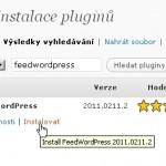 RSS agregátor na WordPressu