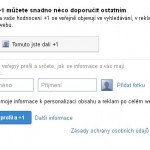 Google +1 jako tlačítko na web