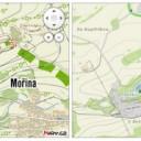Nové turistické mapy
