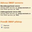 Seznam.cz IMAP