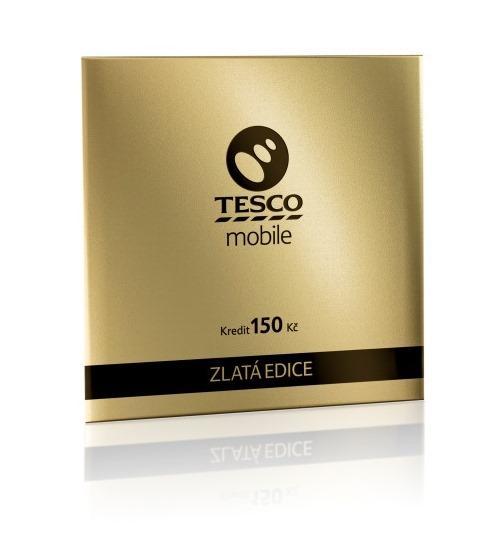 Zlatá edice Tesco Mobile