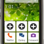 Chytrý telefon pro seniory Doro Liberto 820 Mini nabízí v ČR O2