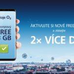 O2 představuje nové mobilní tarify FREE – jde o více dat za stejnou cenu